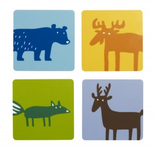 Wild Animals coasters 915311